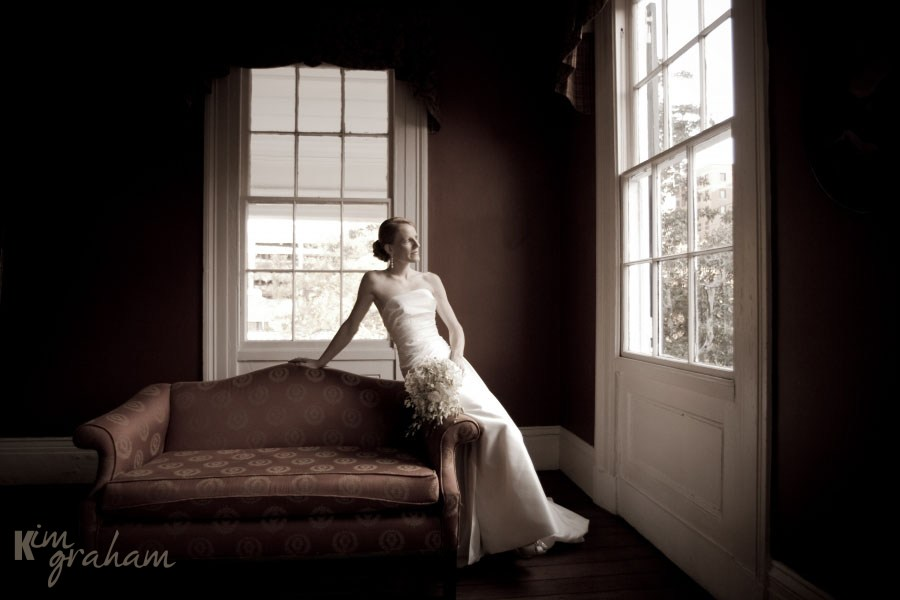 Charleston Bridal Portrait by Kim Graham Photography