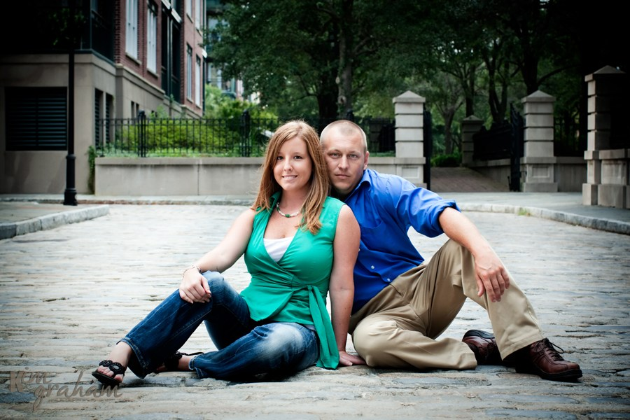 Charleston Engagement Portraits by Kim Graham Photography